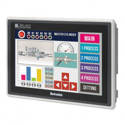 "Logički panel LP-S070-T9D6-C5T,7"" TFT LCD,16 NPN ulaza,16 NPN izlaza,16MB,24Vdc IP65 Autonics"
