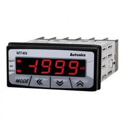 Panelmetar MT4N-DA-E0,LCD 7 seg-4d.,48x24mm,merenje DC struje,4-20mA,2 relej. izl.,24Vac/dc Autonics