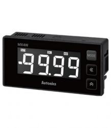 Panelmetar MX4W-V-FN,12 seg.4 dig.LCD disp.,merenje (DC/AC napon,frekvencija),24-240Vdc/Vac Autonics