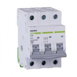 Automatski osigurač 6 kA, Ex9BN 3P C16 Noark