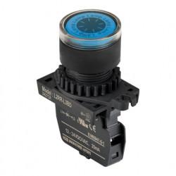 Signalna sijalica L2RR-L3BD plava,12-24Vac/Vdc IP52 Autonics