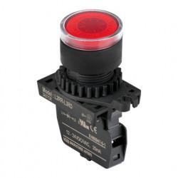 Signalna sijalica L2RR-L3RL crvena,110-220Vac IP52 Autonics