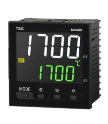 Termoregulator TX4L-14R, disp. LCD,2 reda,4 cifre,1 alarm, relejni,100-240Vac 50/60Hz, IP50 Autonics
