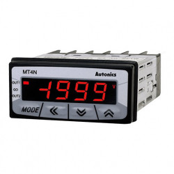 Panelmetar MT4N-AV-E3,LCD 7 seg-4 d,48x24mm,merenje(AC napon,frek) relejni,4-20mA,24Vdc/Vac Autonics