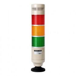 Signalni toranj , R56mm, 3 boje, zujalica 80dB, 220Vac IP20 Autonics