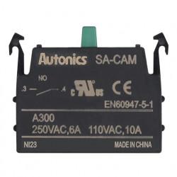 Kontakt blok SA-CAM, start-radni, 1NO, modularni, 6A 250Vac Autonics
