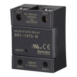Solid State Relay SR1-1475-N,1-fazni, ulaz 4-30Vdc,izlaz 48-480Vac, 75A Autonics