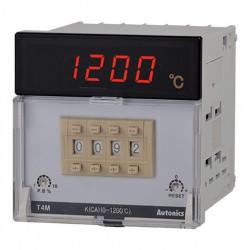Termoregulator T4M-B4RP4C-N,disp.7 seg.4 cifre,PT100,0-400°,relejni SPDT,110-240Vac 50/60Hz Autonics