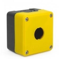 Kontrolna kutija P1EBOS, 1 otvor f22mm, crno-žuta, IP65 Emas