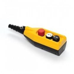 Tastatura za kranove PV3E30B4, 2 tastera+1 sve stop (NC), dupla brzina, 4A 250Vac IP65 Emas