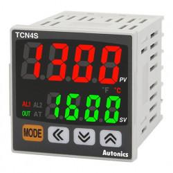 Termoregulator TCN4S-24R disp.2 reda-4 cifre,48x48mm,2 alarma,relejni/SSR,100-240Vac IP65 Autonics