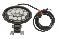 Proiector oval LED, 12/24/60V 150mmx131mmx44mm