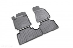 Set covorase negre Land Rover Discovery 4, 2010-2014, 4 buc