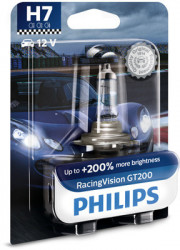 BEC PHILIPS H7 12V 55W PX26D RacingVision GT200