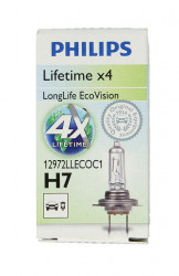 BEC PHILIPS H7 12V 55W PX26d LongLife EcoVision