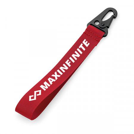 Breloc textil MaxINFINITE Red