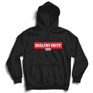 Hanorac cu gluga MaxINFINITE Red