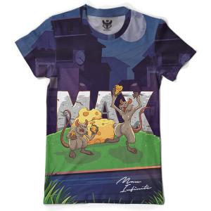 Tricou Full Print MaxINFINITE Old School - Editie Speciala