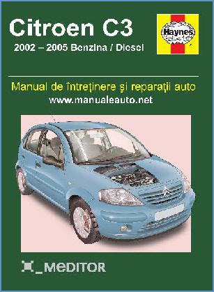 Manual auto Citroen C3 2002-2005
