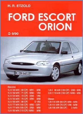 Manual auto Ford Escort