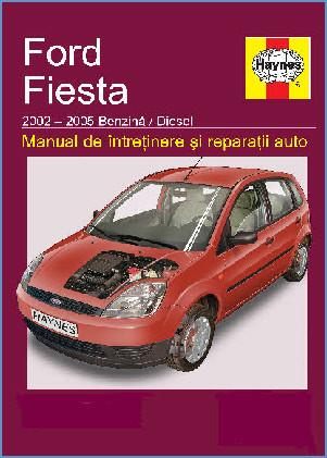 Manual auto Ford Fiesta 2002-2005