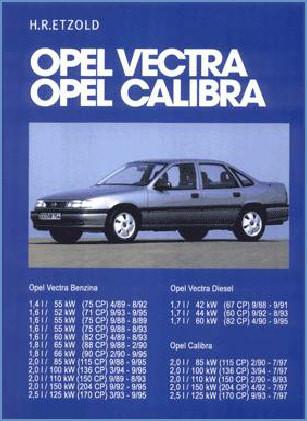 Manual auto Opel Vectra Calibra