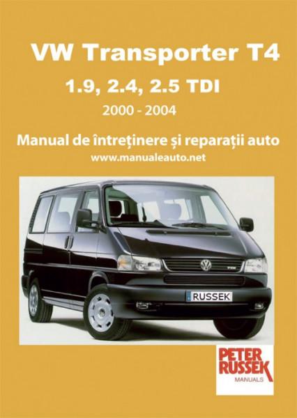 Manual auto VW Transporter T4 2000-2004