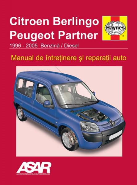 Manual auto Citroen Berlingo / Peugeot Partner