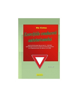 Manual auto Exercitiile conducerii autoturismului