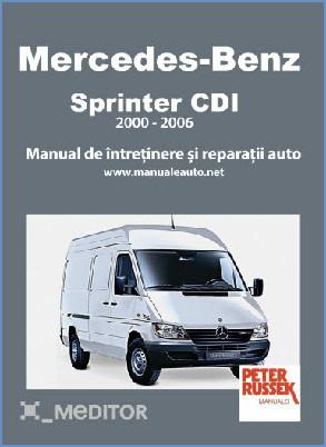 Manual auto Mercedes-Benz Sprinter CDI 2000-2006