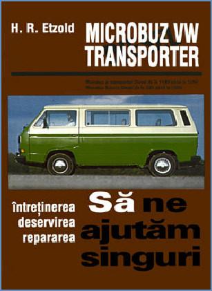 Manual auto VW Microbuz Transporter
