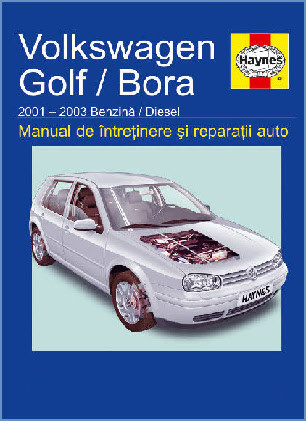 Manual auto VW Golf 4 / Bora 2001-2003