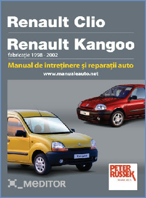 Manual auto Renault Clio / Kangoo 1998-2002