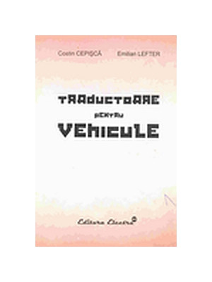 Manual auto Traductoare pentru vehicule