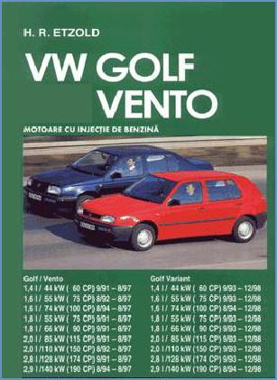 Manual auto VW Golf 3 Vento Benzina