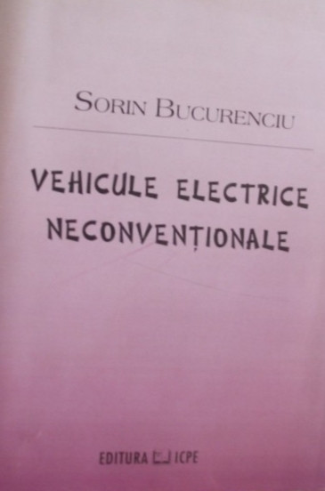 Manual auto Vehicule electrice neconventionale