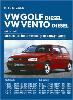 Manual auto VW Golf 3 Vento Diesel