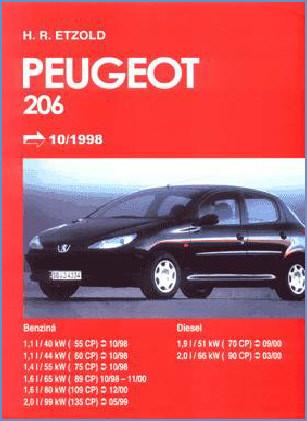 Manual auto Peugeot 206