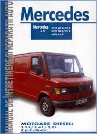 Manual auto Mercedes 207D, 208D, 210D, 307D, 308D, 310D, 408D, 410D
