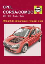 Manual auto Opel Corsa / Combo (2000-2003)