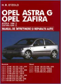 Manual auto Opel Astra G/ Zafira