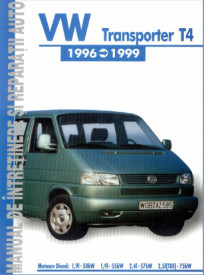 Manual auto VW Transporter T4
