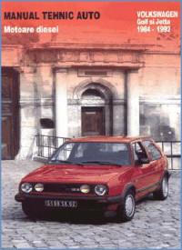 Manual auto VW Golf II Diesel
