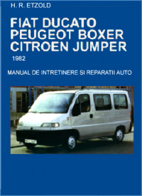 Manual auto Fiat Ducato / Peugeot Boxer / Citroen Jumper