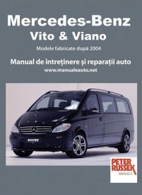Manual auto Mercedes Vito si Viano (dupa 2004)