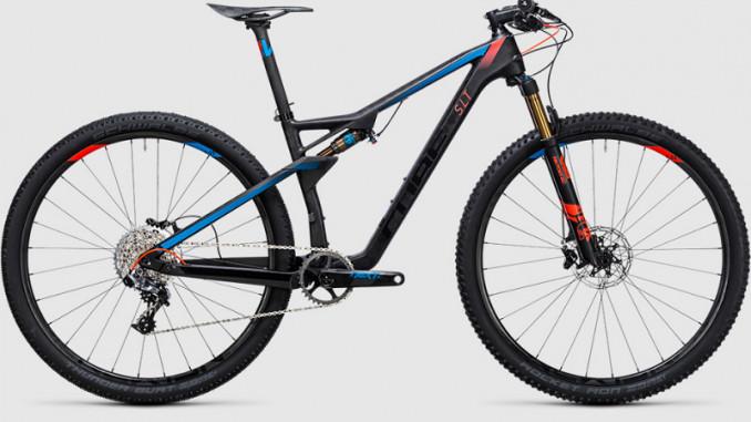 Bicicleta MTB fullsuspension Cube AMS 100 C:68 SLT 29