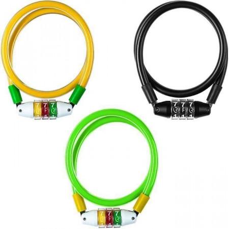 Antifurt RFR Combination Lock Junior 10x600mm yellow green 13359
