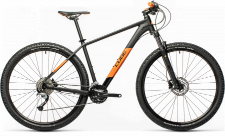 BICICLETA CUBE AIM SL Black Orange