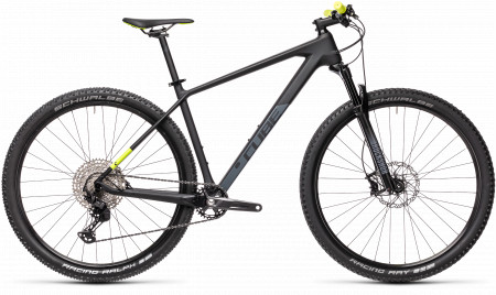 BICICLETA CUBE REACTION C:62 PRO Carbon Yellow