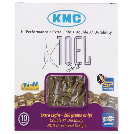 Lant X10 Extra Light Gold KMC